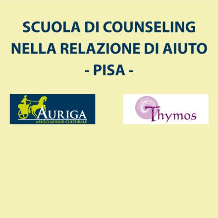 SCUOLA COUNSELING NELLA RELAZIONE DI AIUTO PISA